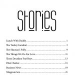 Thong Sized Stories - Table of Contents