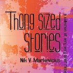 Thong Sized Stories - Book Front Cover